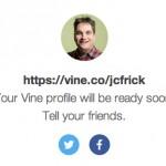 Vine: Persönliche URL kann reserviert werden