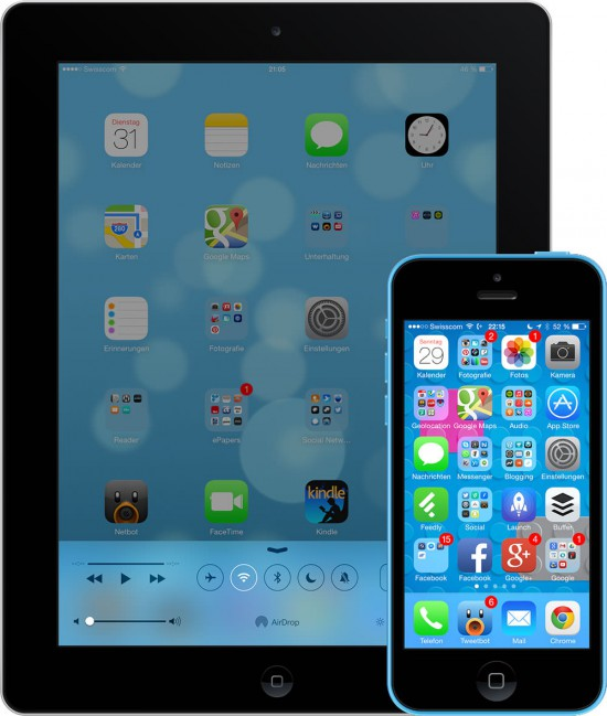 iOS-7-on-iPad-and-iPhone-5C