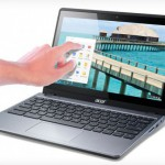 Acer Chromebook C-720p mit Touchscreen Display vorgestellt