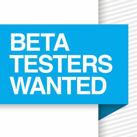 Beta Tester gesucht