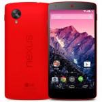 Google Nexus 5 in Rot nun auch in der Schweiz verfügbar