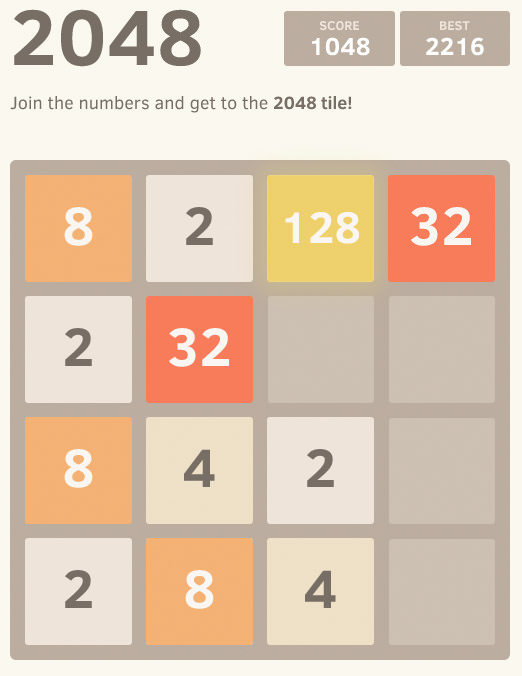 2048-im-Browser