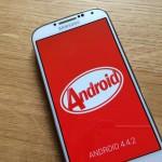 Android 4.4.2 KitKat auf meinem Samsung Galaxy S4 angekommen