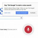Google integriert Sprachsuche direkt in Chrome Browser