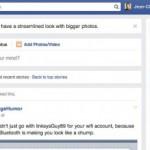 Facebook Newsfeed 2014 bei mir aktiviert – Neue Farben schärfere Schrift sowie grössere Bilder