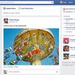 Facebook bringt bald neues Newsfeed Design für alle