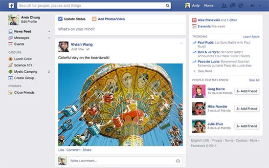 Facebook-Newsfeed-Neu