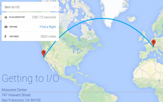 Google-IO-Trip-Info-Map