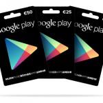 Google Play Geschenkkarten nun auch in der Schweiz erhältlich