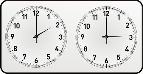 Sommerzeit Uhrumstelllung
