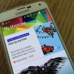 Samsung Galaxy S5: So entfernt ihr den My Magazin Homescreen