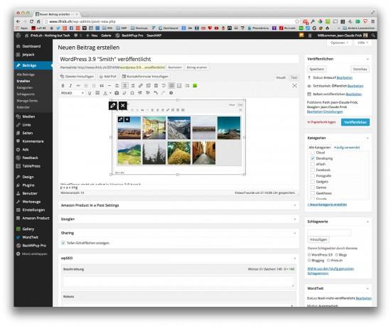 WordPress-3.9-Update-on-iFrick