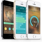 Breeze App für iPhone 5S: Schrittzähler in schön