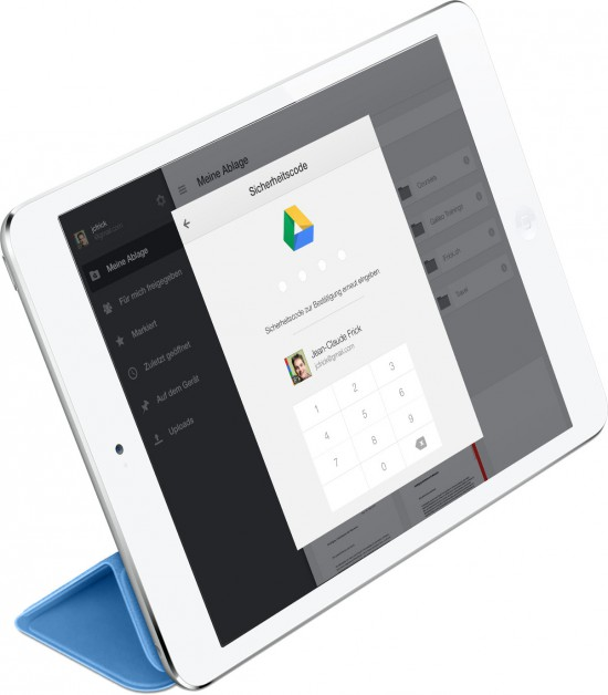 Google-Drive-Code-Lock-on-iPad-Mini