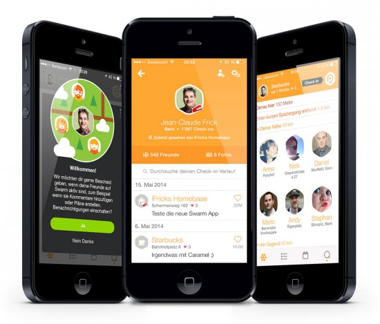 Swarm-App-on-iPhone-5
