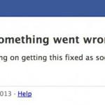 Facebook europaweit ausgefallen [Update]