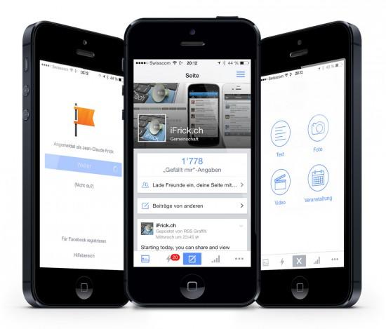 Facebook-Seitenmanager-for-iOS