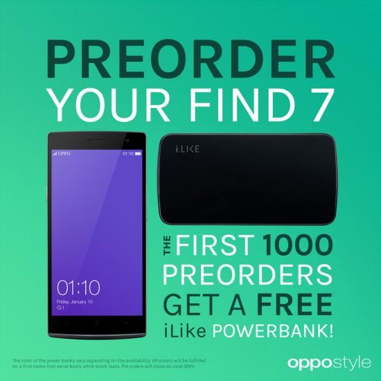 Oppo Find 7 PreOrder