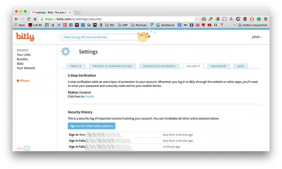 Bitly-2Step-Auth
