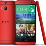 Das HTC One M8 jetzt auch in der Farbe Glamour Red erhältlich