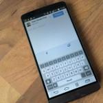 LG G3: Smart Keyboard wird stark verbessert