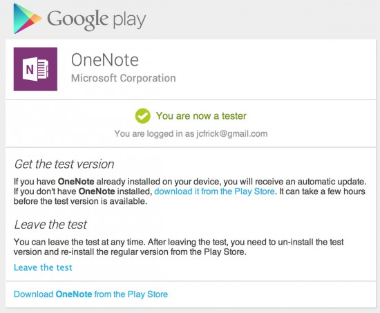 OneNote-for-Android-Beta-Test