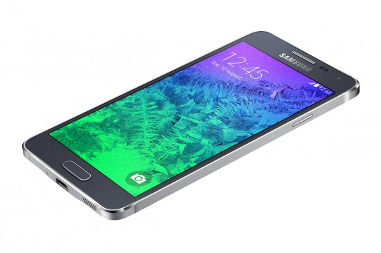 Samsung Galaxy Alpha black