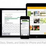 Google Präsentationen für iOS veröffentlicht und Docs und Tabellen aktualisiert