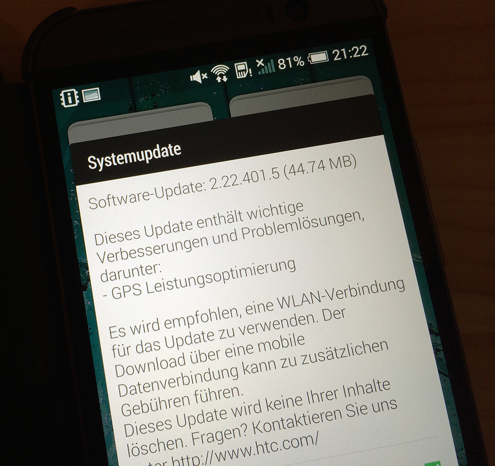 htc one m8 update verbessert gps empfang. Black Bedroom Furniture Sets. Home Design Ideas