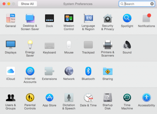 OS X Yosemite DP6 Icons