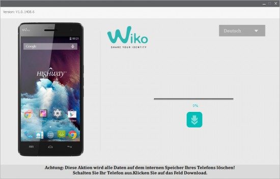Wiko-Highway-KitKat-Update-Installer