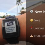 Pebble: Firmware Update 2.5 bringt iOS 8 Unterstützung