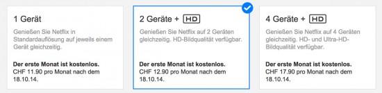 Netflix-Preise-Schweiz