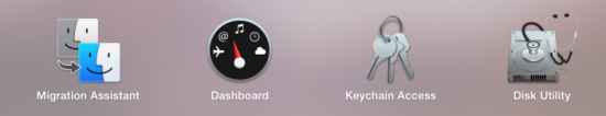 OS X Yosemite DP7 Icons