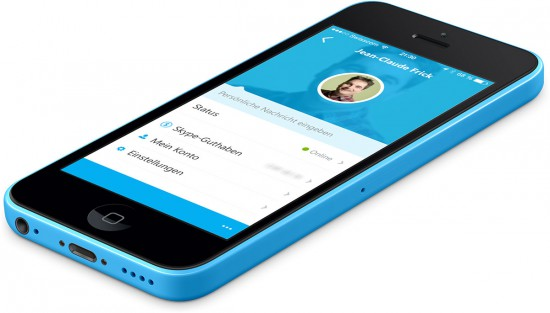 Skype-on-iPhone-5C