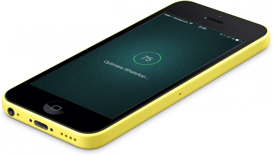 WhatsApp-on-iPhone-5C