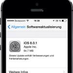 iOS 8.0.1: Apple zieht Update nach Problemen mit Touch ID und Empfang wieder zurück