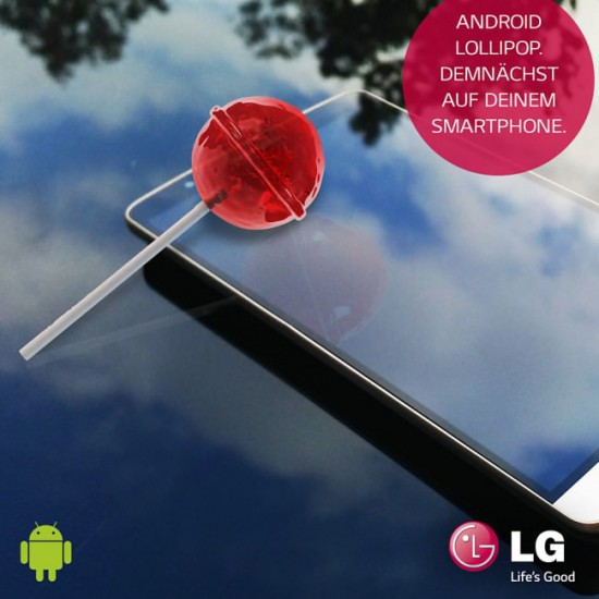 LG Android 5 Lollipop