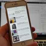 Feedly Reader für iPhone 6 und iPhone 6 Plus angepasst