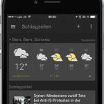 Google veröffentlicht News & Wetter App für iOS