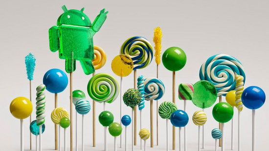 Android 5 Lollipop-Forest