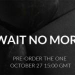OnePlus One: Pre-Order ohne Invite ab 27. Oktober möglich