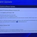 Playstation 4: Software-Update 2.0 steht zum Download bereit