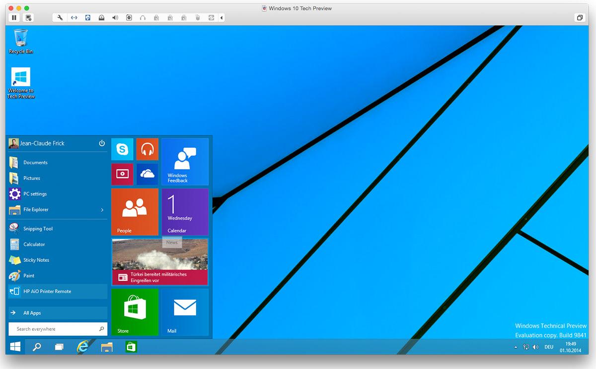 windows 10 technical preview steht zum download bereit nothing but. Black Bedroom Furniture Sets. Home Design Ideas