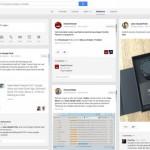 """Google+ mit neuem """"Erwähnungen"""" Tab"""
