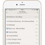 Reeder: Update unterstützt jetzt iPhone 6 und iPhone 6 Plus