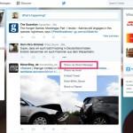 Twitter: Tweets können direkt als DM geteilt werden