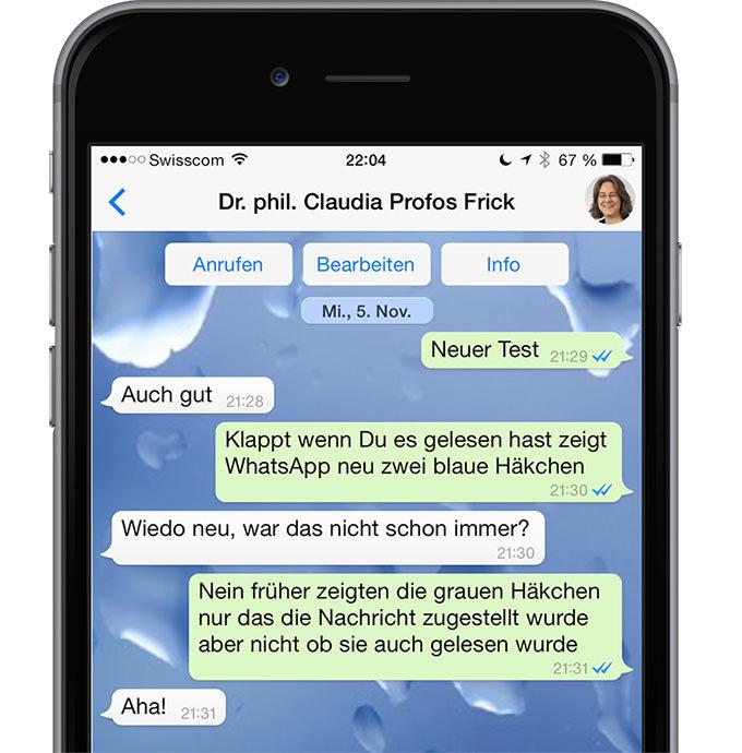 Whatsapp Update F 252 R Iphone 6 Und Iphone 6 Plus Ifrick