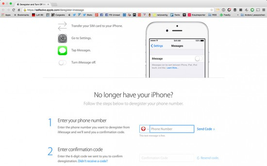 iMessage-UnRegister-Webpage