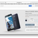Nexus 6 im Google Play Store in der Schweiz und Österreich gelistet